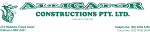 Alligator Constructions 300x64